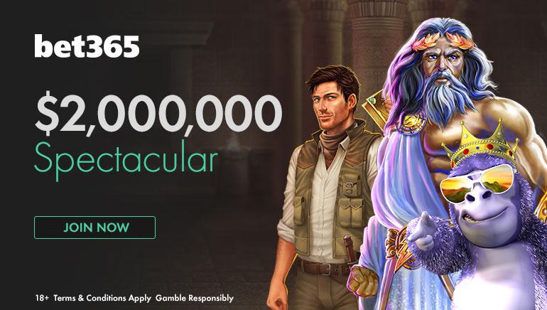 Hay 60.000 bonos en juegos en la Spectacular Promotion de 2.000.000 $ de bet365