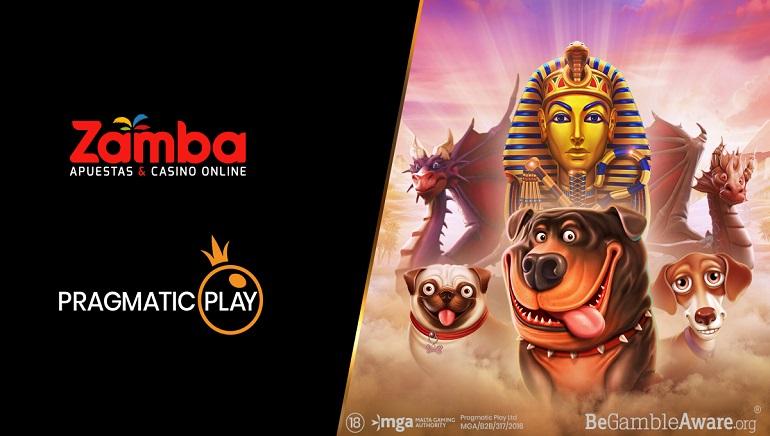 El operador colombiano Zamba lanza al mercado las tragamonedas de Pragmatic Play