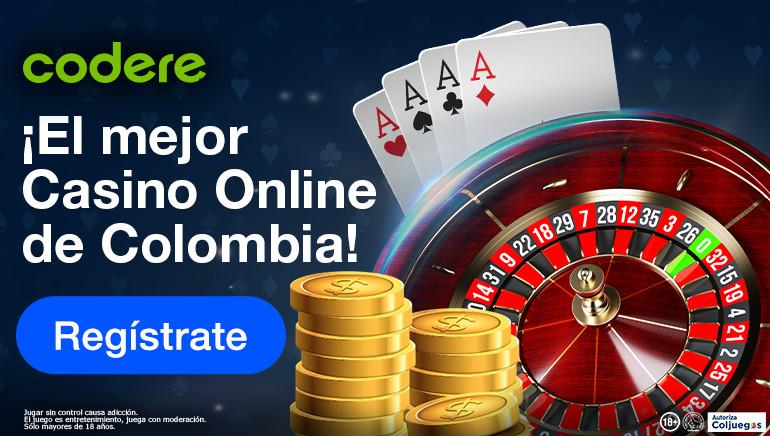 El nuevo casino de Codere Colombia recompensa a sus nuevos miembros