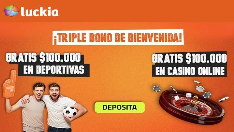 ¡Luckia en Colombia ofrece un bono de bienvenida renovado!