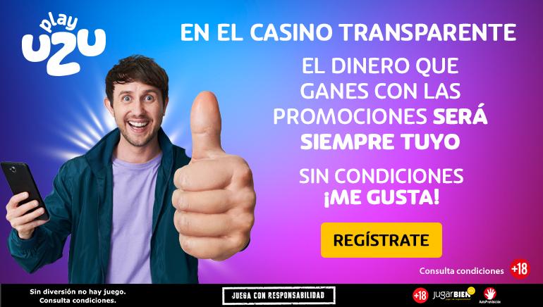 PlayUZU Casino te trae los mejores juegos, bonos en metálico sin restricciones y más